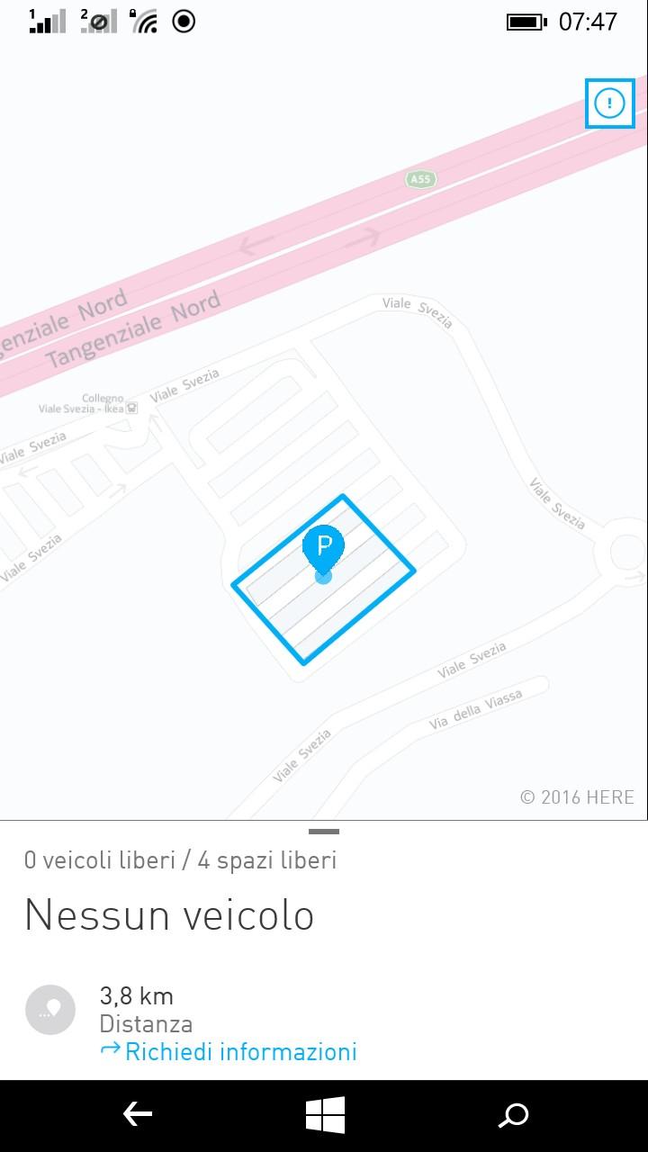 Car2go Torino: nuovo parcheggio a IKEA Collegno