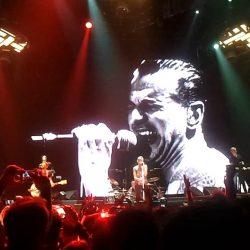 Depeche Mode NLMDA - Never Let Me Down Again Torino 20140218