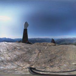 Vista a 360° dal Monte Zerbion