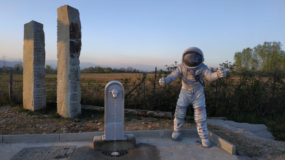 Anche gli astronauti bevono al toret