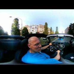 Prova Car2go Smart ForTwo Cabrio - Video a 360° - VIDEO