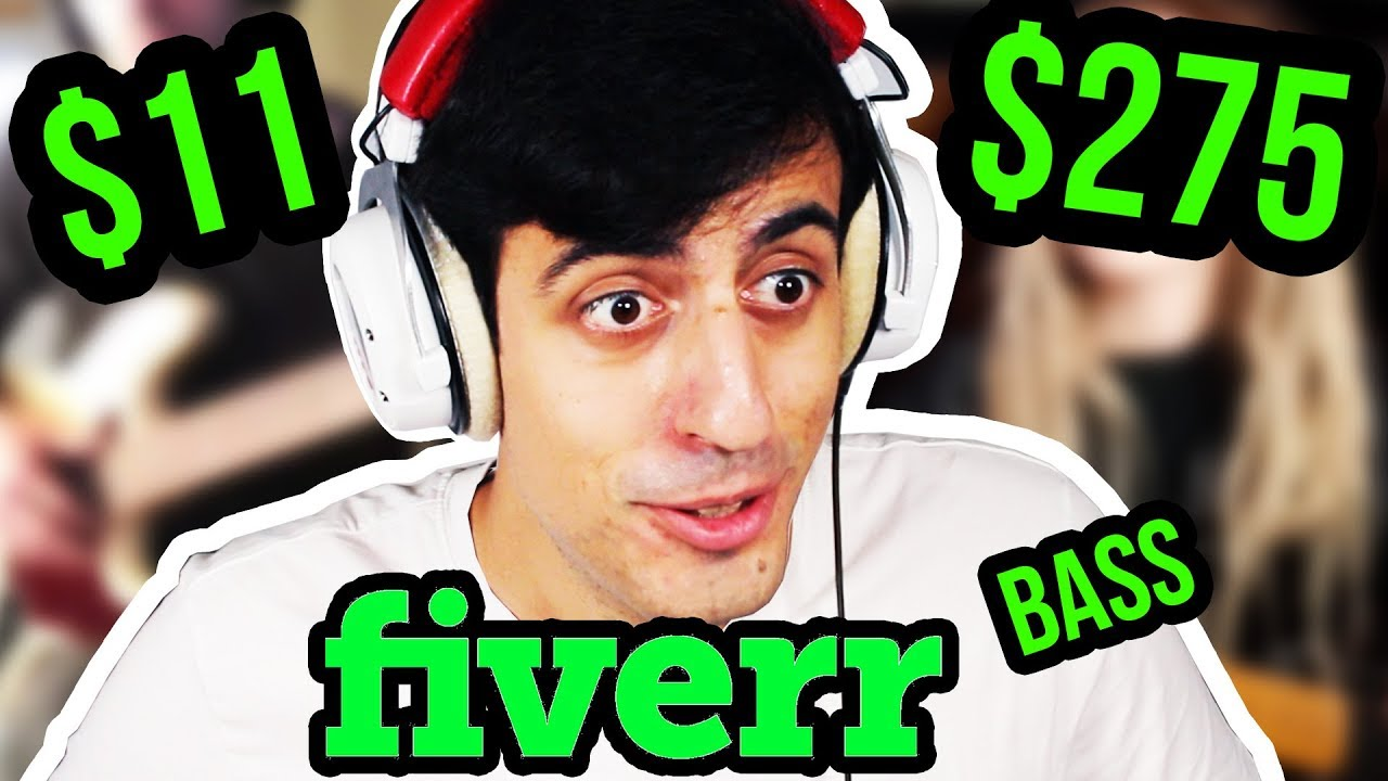 I Paid Bassists on FIVERR to Create an EPIC Bassline… (YouTube)